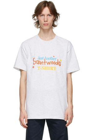 SAINTWOODS Grey Just Another T-Shirt