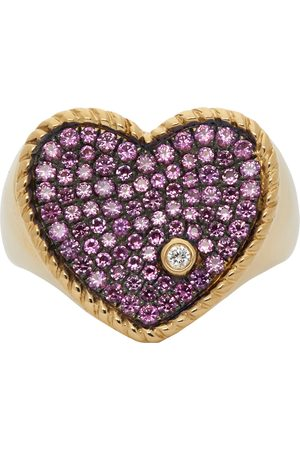 YVONNE LÉON And Sapphire Amour Ring