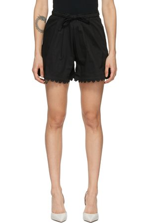 Kika Vargas Scalloped Elsie Shorts
