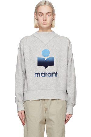 Isabel Marant Women Sweatshirts - Grey Moby Sweatshirt