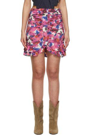 Isabel Marant Silk Milendi Miniskirt