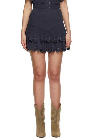 Isabel Marant Silk Landora Miniskirt
