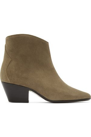 Isabel Marant Women Ankle Boots - Taupe Dacken Ankle Boots