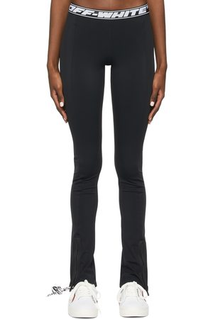 OFF-WHITE Women Leggings - Athleisure Split Leggings