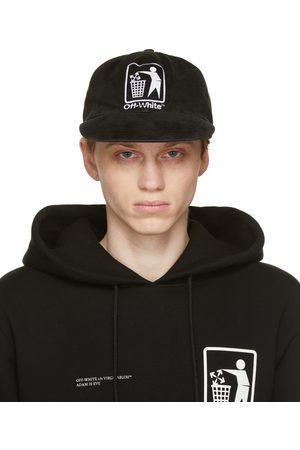 OFF-WHITE Men Caps - Trash Logo Cap