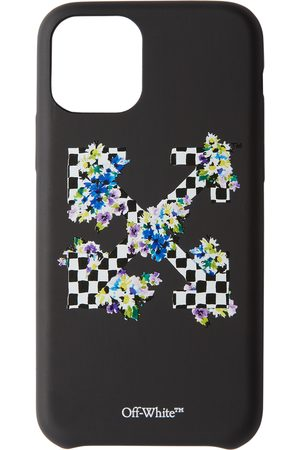 OFF-WHITE Phones Cases - Check Floral Print iPhone 11 Pro Case
