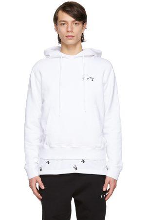 OFF-WHITE Slim Fit Logo Hoodie