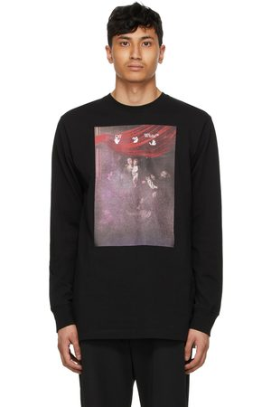 OFF-WHITE Men Long Sleeve - Sprayed Caravaggio Long Sleeve T-Shirt