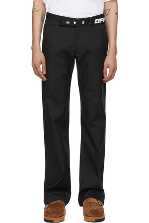 OFF-WHITE Men Chinos - Industrial Belt Chino Trousers