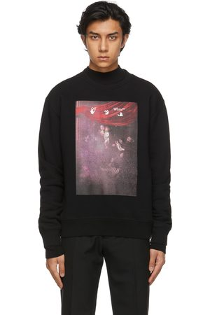 OFF-WHITE Sprayed Caravaggio Slim Sweatshirt
