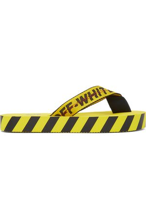 OFF-WHITE And Industrial Flip Flops