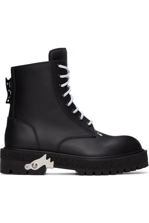 OFF-WHITE Hike Logo Boots