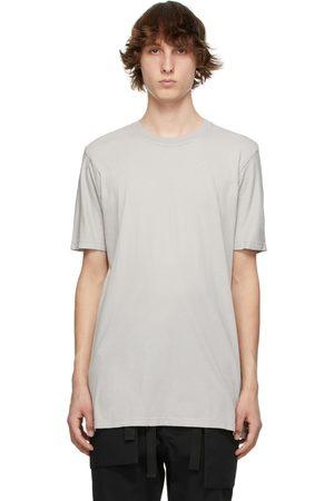 11 BY BORIS BIDJAN SABERI Men T-shirts - Grey Basic T-Shirt