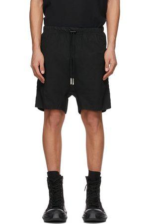 11 BY BORIS BIDJAN SABERI Men Shorts - Double Object-Dyed Shorts