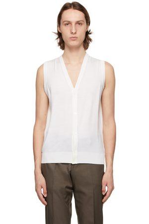ISAIA Off- Merino Sweater Vest