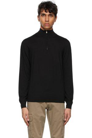 ISAIA Wool Quarter-Zip Sweater