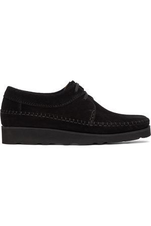 Padmore and Barnes SSENSE Exclusive Suede Willow Derbys