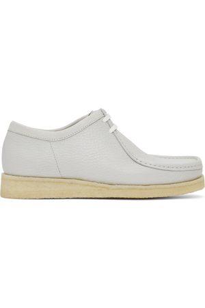 Padmore and Barnes Men Formal Shoes - SSENSE Exclusive Grey Leather Original P204 Derbys