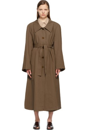 LEMAIRE Linen Trench Coat