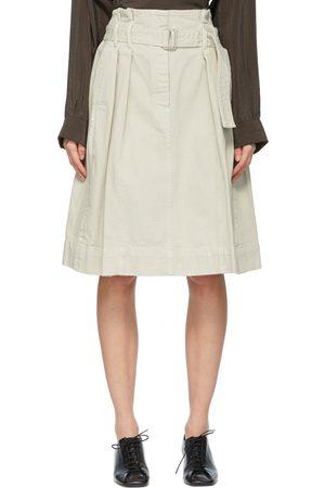LEMAIRE Denim Bell Miniskirt