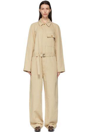LEMAIRE Cotton and Linen Jumpsuit