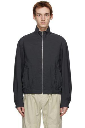 LEMAIRE Grey Light Wool Glazed Jacket