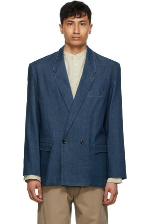 LEMAIRE Denim Double-Breasted Jacket