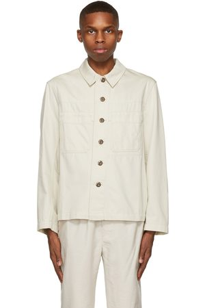 LEMAIRE Off- Denim Workwear Jacket