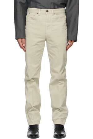 LEMAIRE Men Tapered - Off- Tapered 5 Pocket Jeans