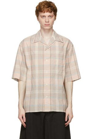 LEMAIRE And Check Short Sleeve Shirt