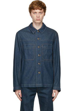 LEMAIRE Denim Workwear Overshirt Jacket