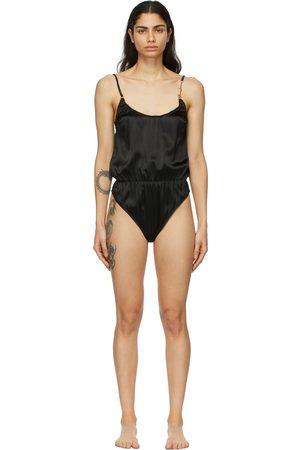 VERSACE Silk GV Signature Bodysuit