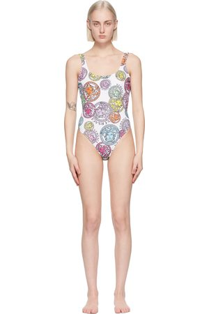 VERSACE Women Swimsuits - Medusa Amplified Print One-Piece Swimsuit