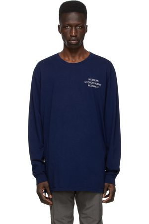 Western Hydrodynamic Research Men Long Sleeve - SSENSE Exclusive Uniform Long Sleeve T-Shirt