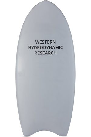 Western Hydrodynamic Research SSENSE Exclusive Grey Luxury Paipo Surfboard