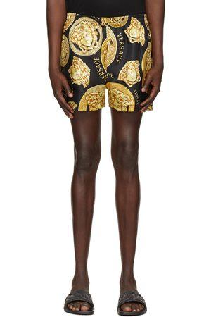 VERSACE Men Shorts - And Medusa Print Shorts