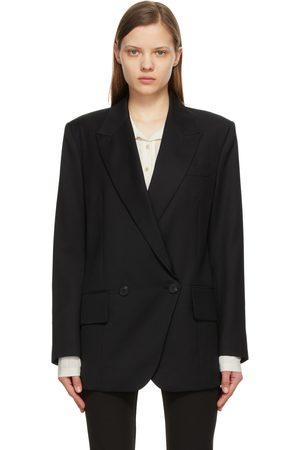 Low Classic Women Blazers - Wool Loose Fit Blazer