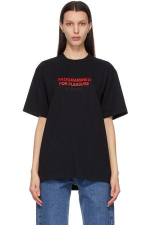 Vetements Programmed For Pleasure T-Shirt