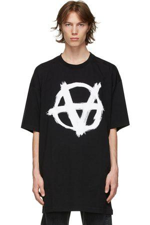 Vetements Oversized Anarchy Gothic Logo T-Shirt