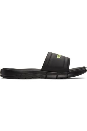Vetements Men Sandals - Reebok Edition Logo Slides