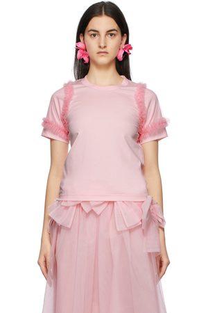 NOIR KEI NINOMIYA Tulle Sleeves T-Shirt