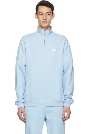 M.A. Martin Asbjorn Turtleneck Half-Zip Sweatshirt