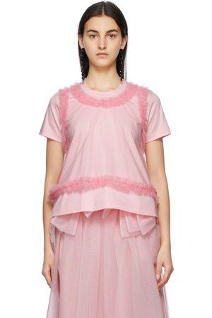 NOIR KEI NINOMIYA Women T-shirts - Ponte Tulle T-Shirt