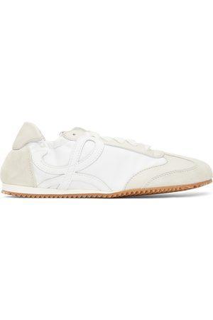 Loewe Women Sneakers - Off- Ballet Runner Sneakers