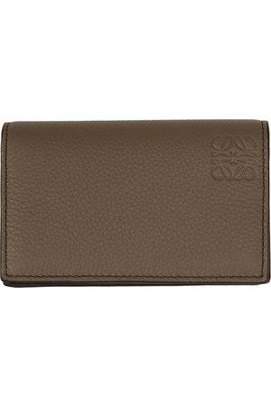 Loewe Men Wallets - Taupe Business Bifold Card Holder