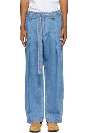 Loewe Belted High-Waist Jeans