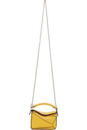 Loewe Yellow Nano Puzzle Bag