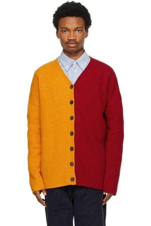 Loewe Men Cardigans - And Oversized Wool Cardigan