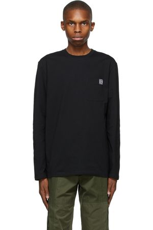 Loewe Men Long Sleeve - Anagram Long Sleeve T-Shirt