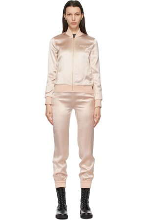 Fendi Satin Jumpsuit Lounge Set